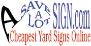 Yard Signs 100 Blank Yard Signs 169 With Stands Blank