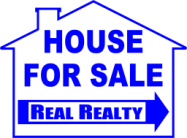 New! Die Cut Real Estate Signs